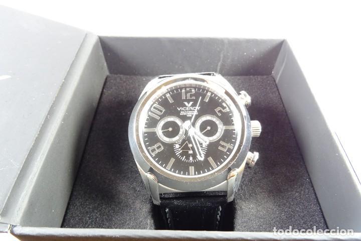 Relojes - Viceroy: Reloj viceroy clásico con en acero y cuero negro, multifunción - Foto 7 - 249097680