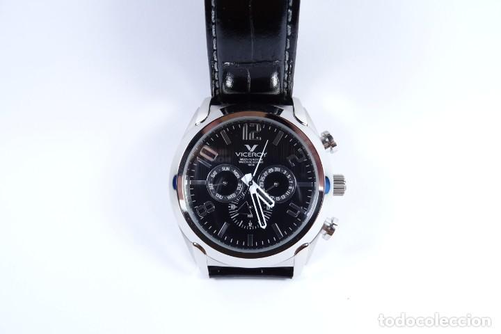 Relojes - Viceroy: Reloj viceroy clásico con en acero y cuero negro, multifunción - Foto 10 - 249097680