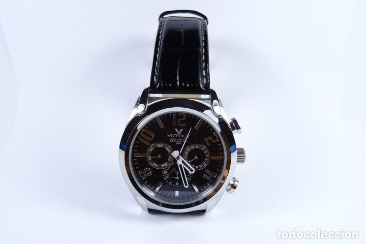 Relojes - Viceroy: Reloj viceroy clásico con en acero y cuero negro, multifunción - Foto 11 - 249097680