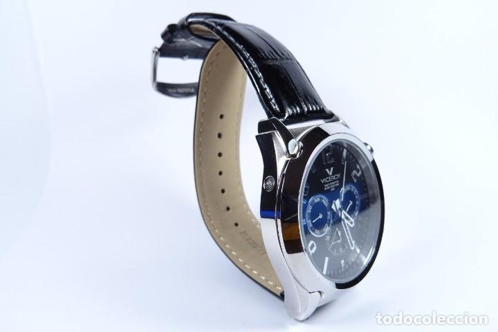 Relojes - Viceroy: Reloj viceroy clásico con en acero y cuero negro, multifunción - Foto 12 - 249097680