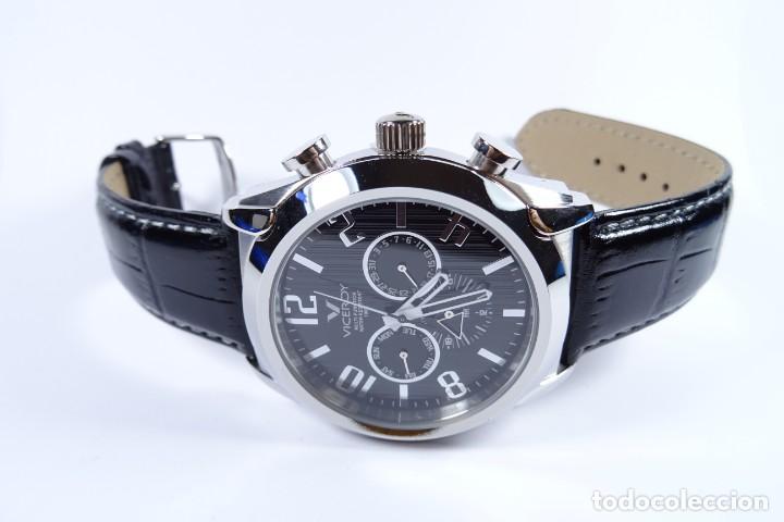 Relojes - Viceroy: Reloj viceroy clásico con en acero y cuero negro, multifunción - Foto 13 - 249097680
