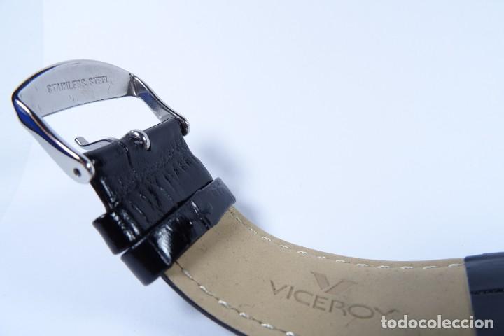 Relojes - Viceroy: Reloj viceroy clásico con en acero y cuero negro, multifunción - Foto 15 - 249097680