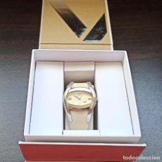 Relojes - Viceroy: DETALLES DE RELOJ VICEROY MUJER MOD. 47226-05 - CORREA DE CUERO - COLOR BEIGE. Lote 249568220