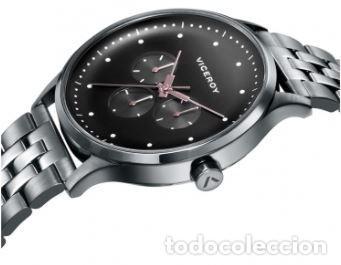 Relojes - Viceroy: Reloj de Hombre Viceroy Switch multifunción con la caja y el brazalete de acero con IP gris. - Foto 2 - 252412425