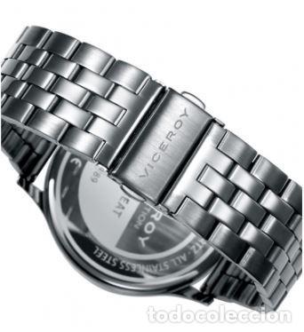 Relojes - Viceroy: Reloj de Hombre Viceroy Switch multifunción con la caja y el brazalete de acero con IP gris. - Foto 3 - 252412425
