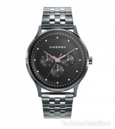 Relojes - Viceroy: Reloj de Hombre Viceroy Switch multifunción con la caja y el brazalete de acero con IP gris. - Foto 4 - 252412425