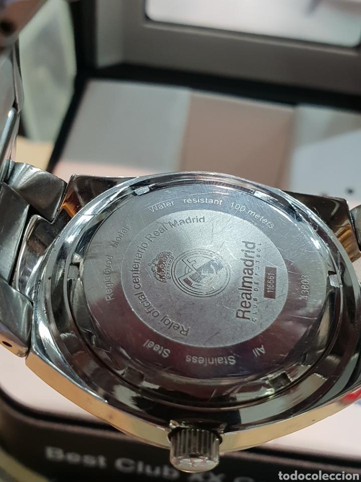 Relojes - Viceroy: RELOJ VICEROY REAL MADRID FUNCIONANDO . CABALLERO . ACERO. EN SU CAJA - Foto 4 - 253223980