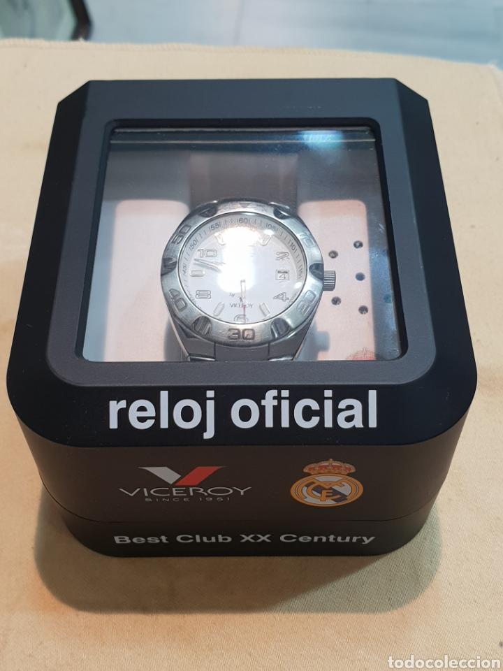 Relojes - Viceroy: RELOJ VICEROY REAL MADRID FUNCIONANDO . CABALLERO . ACERO. EN SU CAJA - Foto 7 - 253223980
