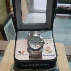 Relojes - Viceroy: RELOJ VICEROY REAL MADRID FUNCIONANDO . CABALLERO . ACERO. EN SU CAJA. Lote 253223980