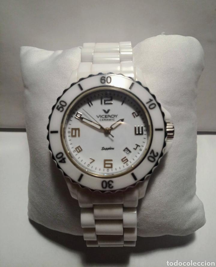 Relojes - Viceroy: RELOJ PARA DAMA VICEROY CERAMIC 46644 NUEVO DE STOCK - Foto 2 - 253316475