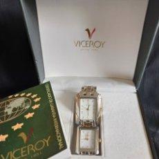 Montres - Viceroy: PAREJA DE RELOJES VICEROY.. Lote 254202410