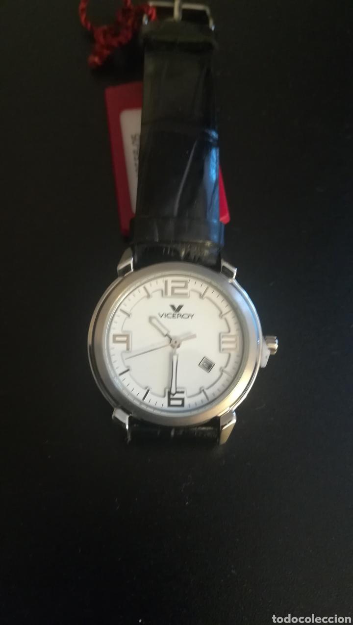 RELOJ VICEROY NUEVO CORREA DE PIEL SIN ESTRENAR (Relojes - Relojes Actuales - Viceroy)