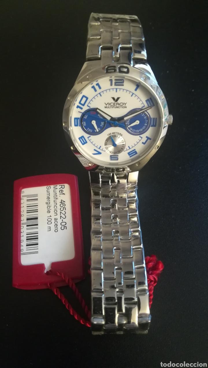 Relojes - Viceroy: RELOJ VICEROY NUEVO SIN ESTRENAR ACERO - Foto 2 - 254378460