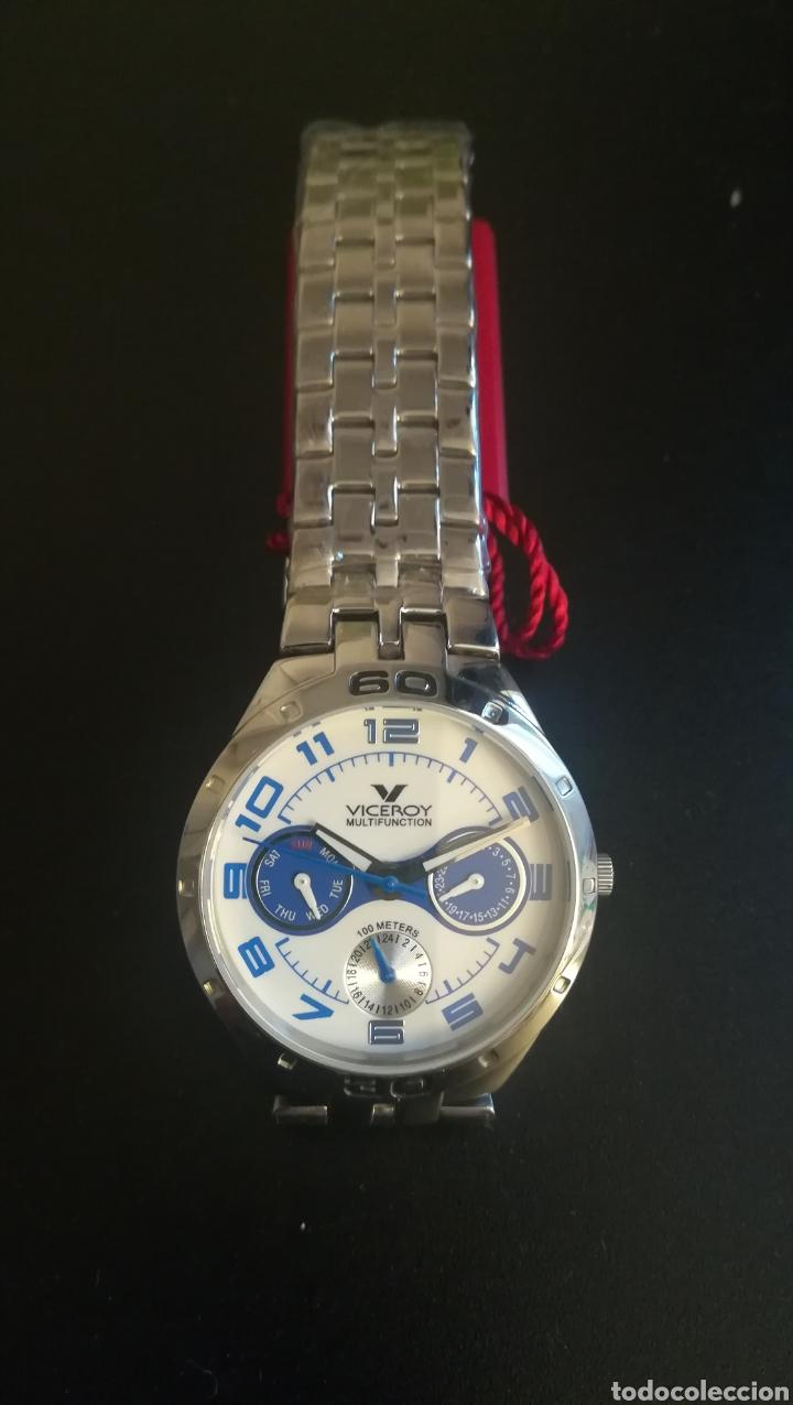 RELOJ VICEROY NUEVO SIN ESTRENAR ACERO (Relojes - Relojes Actuales - Viceroy)