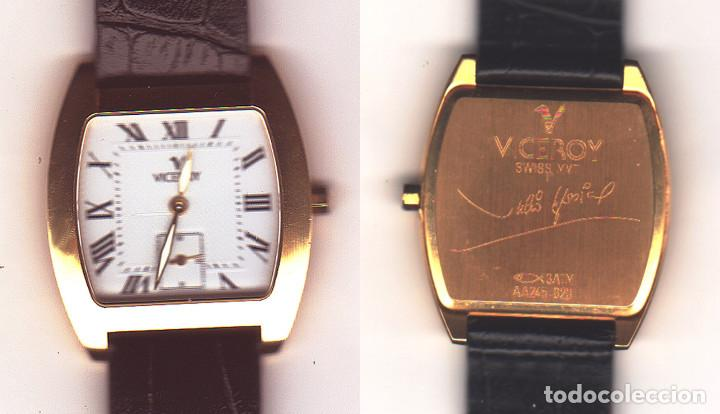 RELOJ VICEROY - CABALLERO O SEÑORA - CAJA DE ORO DE 18 KILATES - MODELO J. IGLESIAS (Relojes - Relojes Actuales - Viceroy)