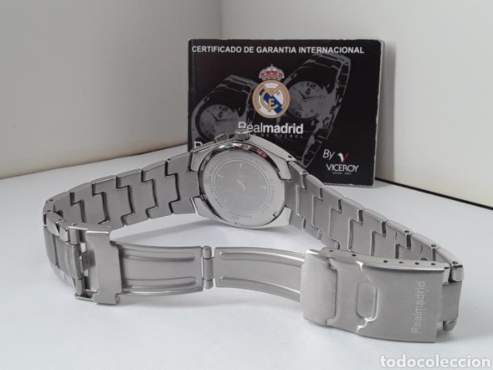 Relojes - Viceroy: RELOJ VICEROY OFICIAL CENTENARIO REAL MADRID. NUEVO - Foto 3 - 255395455