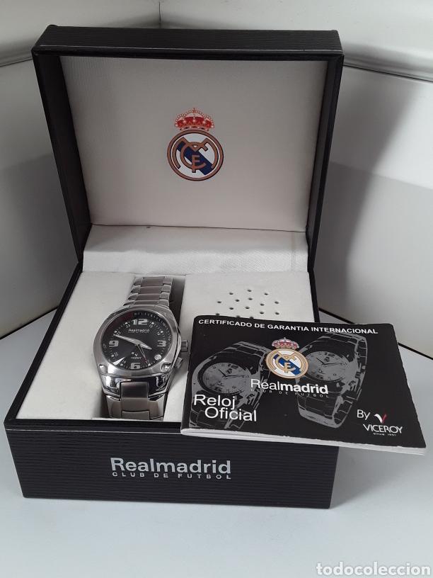 RELOJ VICEROY OFICIAL CENTENARIO REAL MADRID. NUEVO (Relojes - Relojes Actuales - Viceroy)