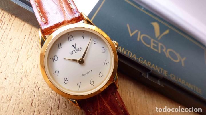 RELOJ VICEROY, TAMAÑO CADETE. NUEVO, SIN USO (Relojes - Relojes Actuales - Viceroy)