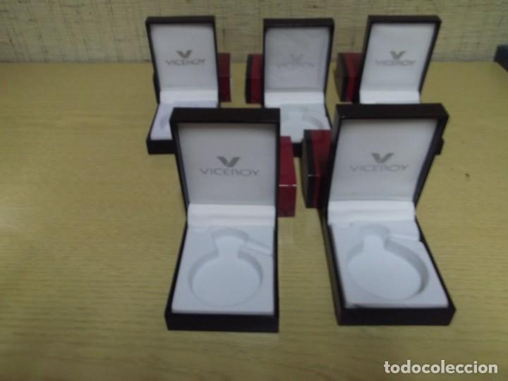 Relojes - Viceroy: 5 Estuches pequeños para relojes de bolsillo de Viceroy - Foto 3 - 255961445