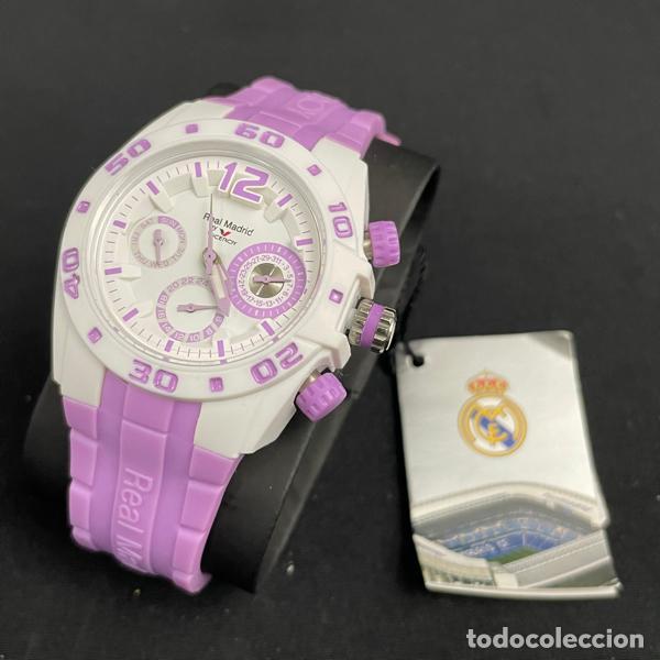 Relojes - Viceroy: RELOJ VICEROY-432836 75-REAL MADRID-CADETE-NIÑO-NIÑA-PURPURA-NUEVO - Foto 4 - 260406960