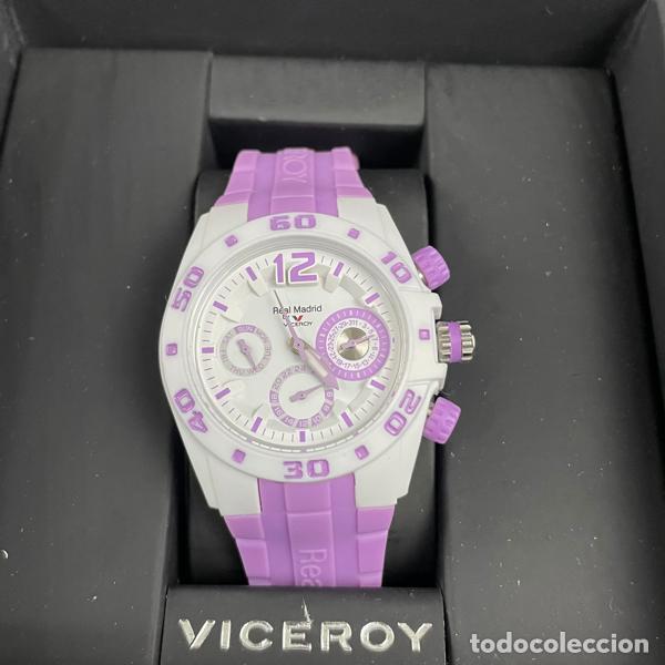 Relojes - Viceroy: RELOJ VICEROY-432836 75-REAL MADRID-CADETE-NIÑO-NIÑA-PURPURA-NUEVO - Foto 6 - 260406960