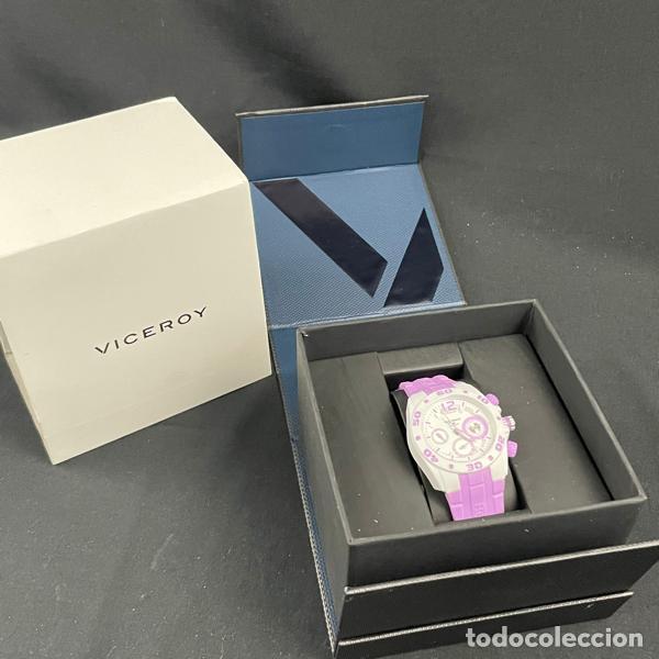 Relojes - Viceroy: RELOJ VICEROY-432836 75-REAL MADRID-CADETE-NIÑO-NIÑA-PURPURA-NUEVO - Foto 11 - 260406960