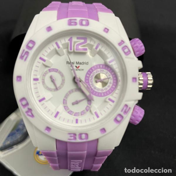 RELOJ VICEROY-432836 75-REAL MADRID-CADETE-NIÑO-NIÑA-PURPURA-NUEVO (Relojes - Relojes Actuales - Viceroy)