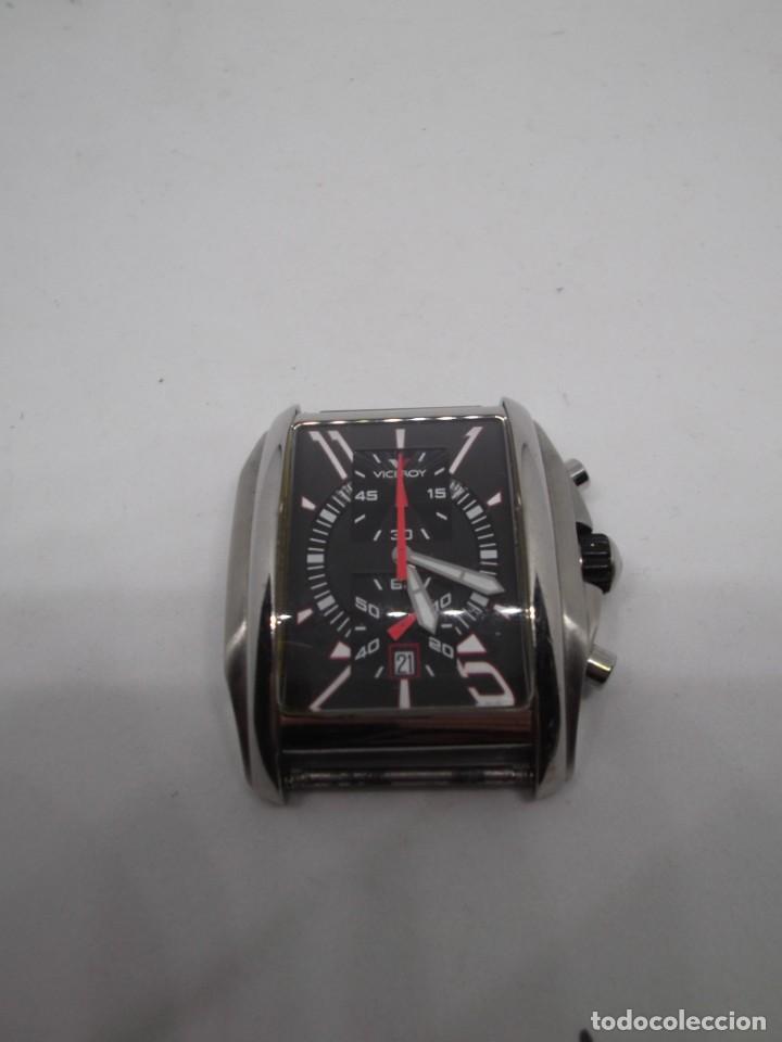 Relojes - Viceroy: Caja de Reloj Viceroy de caballero.Funciona - Foto 4 - 265504824