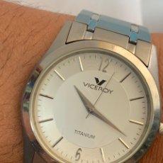 Relojes - Viceroy: RELOJ VICEROY TITANIUM QUARTZ 30 METERS ORIGINAL. Lote 267238404
