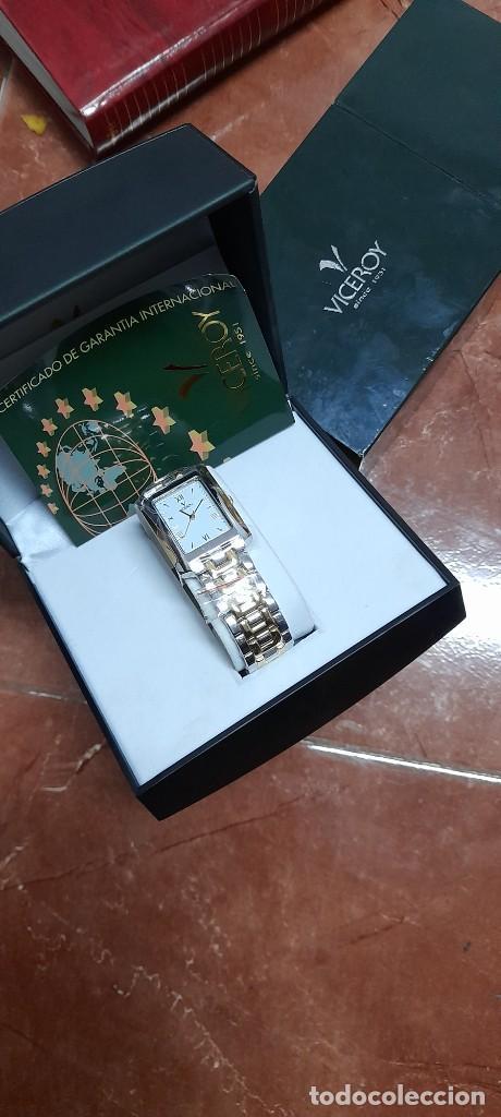 RELOJ VICEROY EN CAJA SIN ESTRENAR - MUJER - ACERO INOXIDABLE - MODELO 40905 (Relojes - Relojes Actuales - Viceroy)
