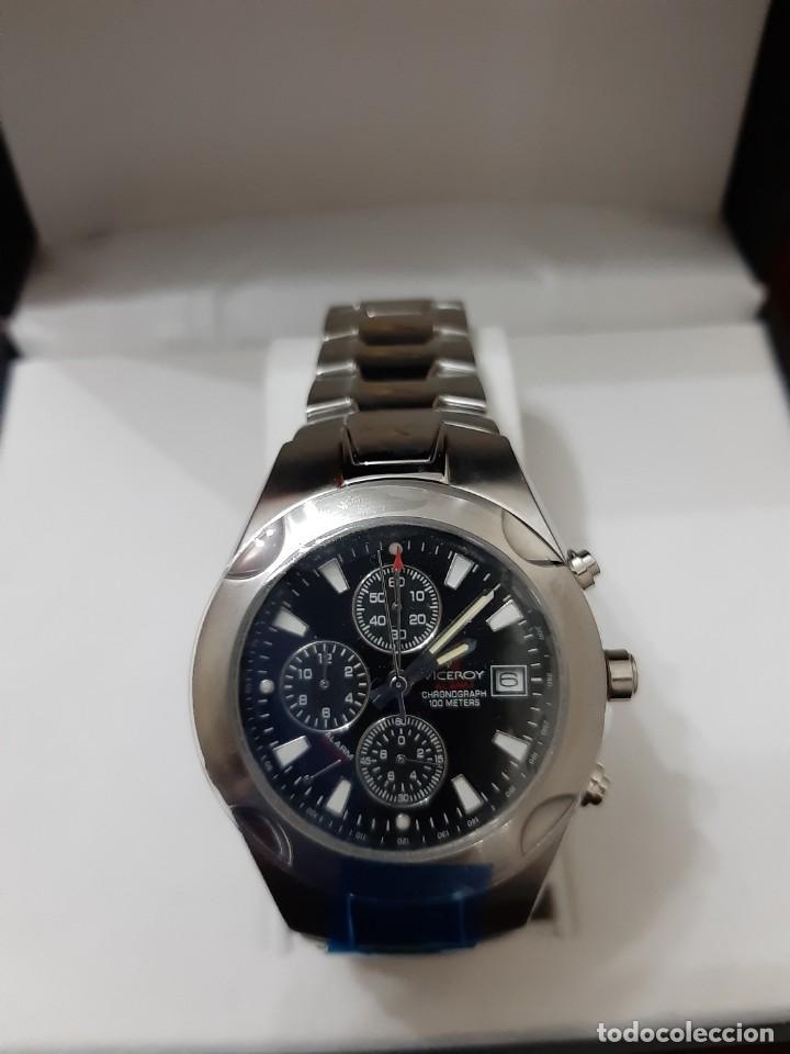 "RELOJ VICEROY MODELO 43359 CHRONOGRAPH 10ATM ""NUEVO"" (Relojes - Relojes Actuales - Viceroy)"