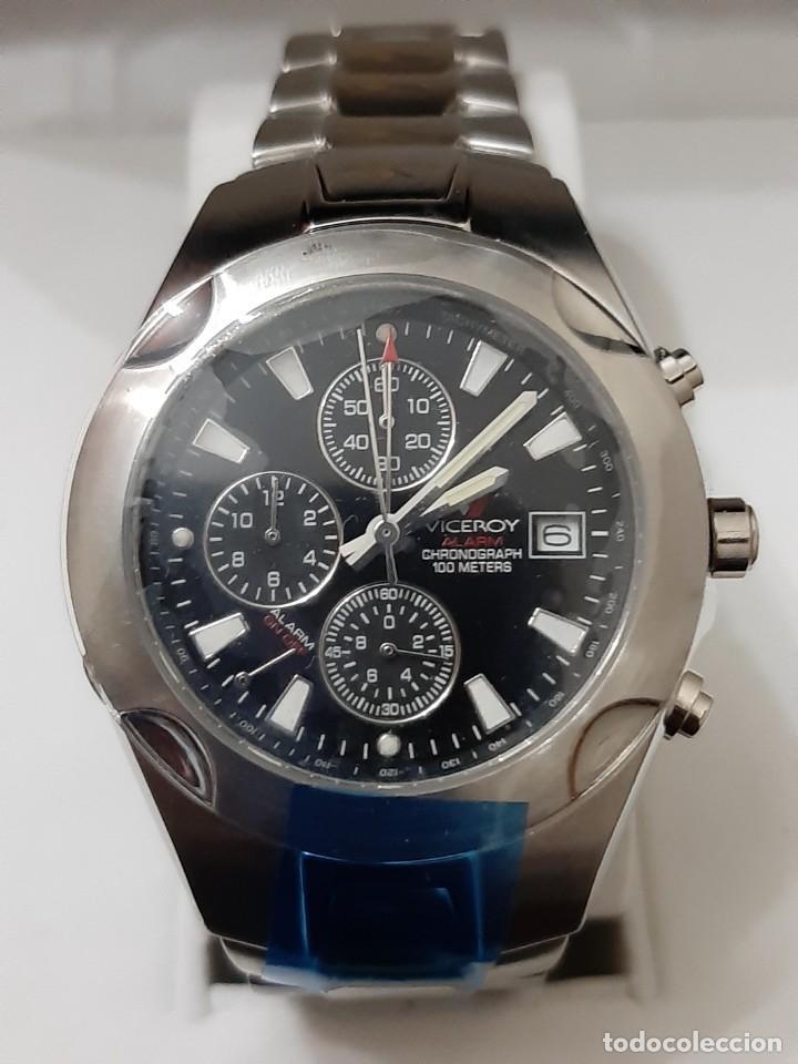 "Relojes - Viceroy: Reloj Viceroy Modelo 43359 CHRONOGRAPH 10ATM ""NUEVO"" - Foto 2 - 273992608"
