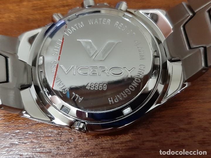 "Relojes - Viceroy: Reloj Viceroy Modelo 43359 CHRONOGRAPH 10ATM ""NUEVO"" - Foto 3 - 273992608"