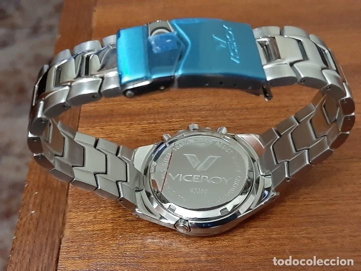 "Relojes - Viceroy: Reloj Viceroy Modelo 43359 CHRONOGRAPH 10ATM ""NUEVO"" - Foto 4 - 273992608"