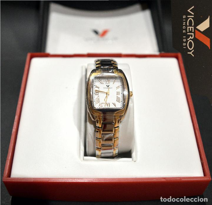 Relojes - Viceroy: RELOJ VICEROY SINCE 1951 MUJER EN ACERO Y ORO NUEVO SIN USO - Foto 2 - 278466078