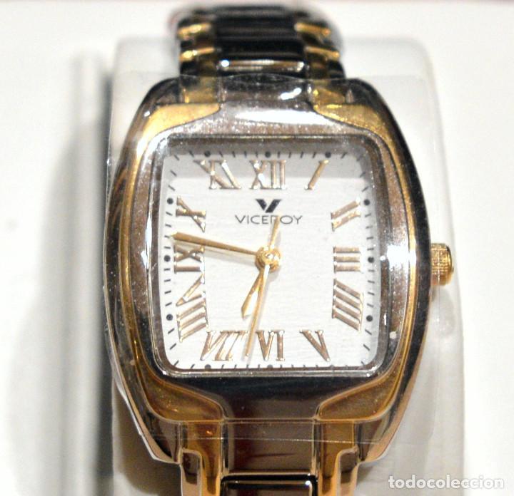 Relojes - Viceroy: RELOJ VICEROY SINCE 1951 MUJER EN ACERO Y ORO NUEVO SIN USO - Foto 3 - 278466078