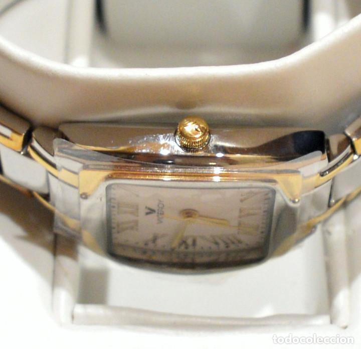 Relojes - Viceroy: RELOJ VICEROY SINCE 1951 MUJER EN ACERO Y ORO NUEVO SIN USO - Foto 6 - 278466078