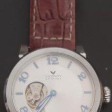 Relojes - Viceroy: PRECIOSO RELOJ DOS CARAS VICEROY, DOS RELOJES EN UNO, AUTOMATICO, UN RELOJ POR CADA CARA,FUNCIONANDO. Lote 279373708