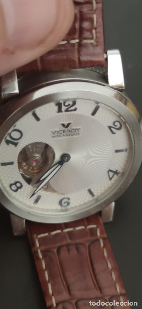 Relojes - Viceroy: PRECIOSO RELOJ DOS CARAS VICEROY, DOS RELOJES EN UNO, AUTOMATICO, UN RELOJ POR CADA CARA,FUNCIONANDO - Foto 3 - 279373708