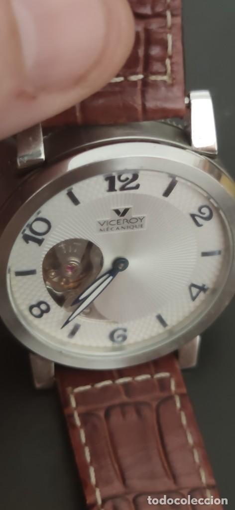 Relojes - Viceroy: PRECIOSO RELOJ DOS CARAS VICEROY, DOS RELOJES EN UNO, AUTOMATICO, UN RELOJ POR CADA CARA,FUNCIONANDO - Foto 4 - 279373708