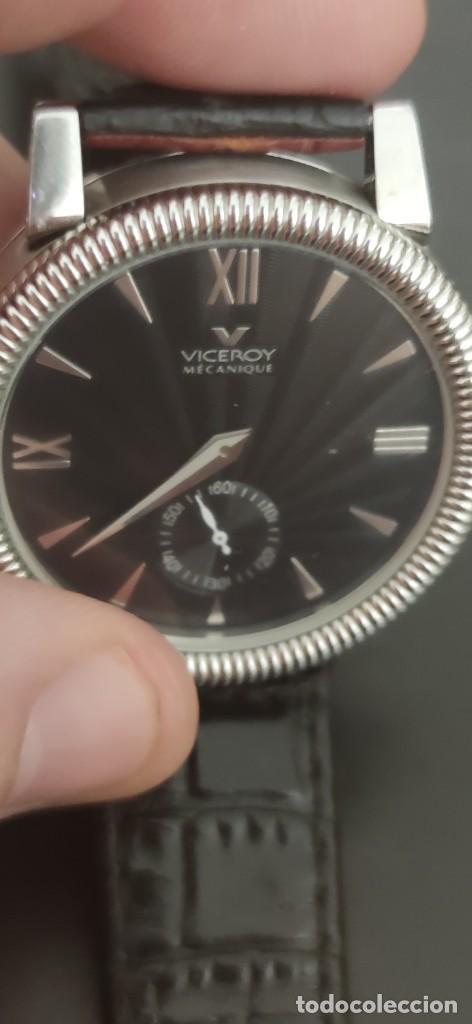 Relojes - Viceroy: PRECIOSO RELOJ DOS CARAS VICEROY, DOS RELOJES EN UNO, AUTOMATICO, UN RELOJ POR CADA CARA,FUNCIONANDO - Foto 13 - 279373708