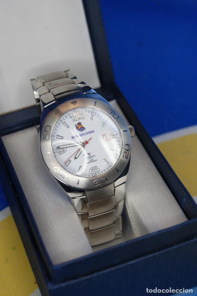 Relojes - Viceroy: Reloj de pulsera Viceroy, edición Real Sociedad de Fútbol, original. Acero Inox. 100m. Water Resiste - Foto 2 - 287199438