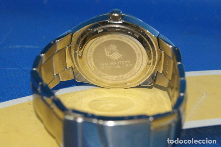 Relojes - Viceroy: Reloj de pulsera Viceroy, edición Real Sociedad de Fútbol, original. Acero Inox. 100m. Water Resiste - Foto 5 - 287199438