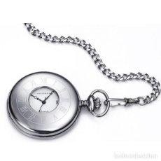 Relojes - Viceroy: RELOJ DE BOLSILLO VICEROY 44095-02 CABALLERO ACERO. Lote 293370938