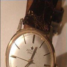 Relojes - Zenith: ZENITH 240 S CHAPADO EN ORO. Lote 21972710