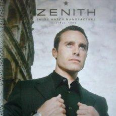 Relojes - Zenith: RELOJES ZENITH CATALOGO COLLETTION 2005-2006 GRAN FORMATO 28X35. Lote 30417903