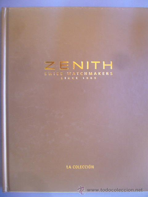 Relojes - Zenith: LIBRO catalogo ZENITH COLLECIÓN RELOJ V SWISS WATCH MANUFACTURE SINCE 1865 PAG: 180 2003 2004 - Foto 1 - 30785757
