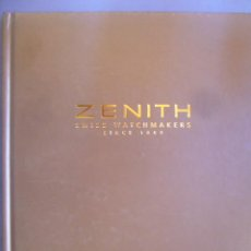Relojes - Zenith: LIBRO CATALOGO ZENITH COLLECIÓN RELOJ V SWISS WATCH MANUFACTURE SINCE 1865 PAG: 180 2003 2004. Lote 30785757