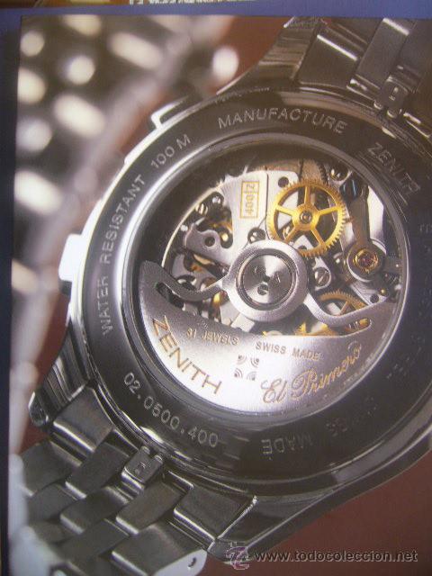 Relojes - Zenith: contraportada - Foto 2 - 30785757