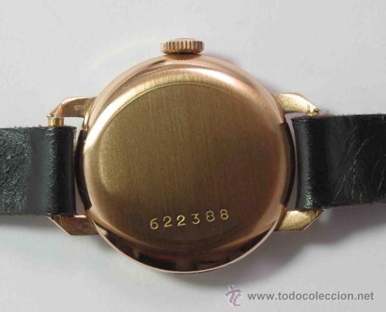 Relojes - Zenith: RELOJ ZENITH CADETE ORO 18 QUILATES.- CADET ZENITH WATCH GOLD 18 CARATS. - Foto 3 - 37795595